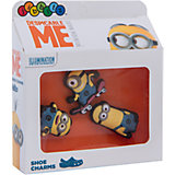 Джибитсы 3 шт. для сабо Crocs MNN Minions 3 Pack F15 - Card