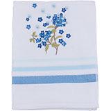 Полотенце подарочное FUSION махровое 50*90, TAC, голубой