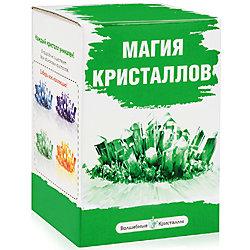 """Набор для выращивания кристаллов """"Зеленый"""", Магия кристаллов"""
