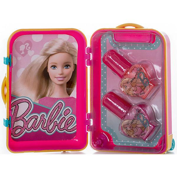 Набор косметики для ногтей Barbie в чемоданчике, розовый