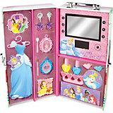 """Игровой набор детской косметики """"Принцессы Диснея"""" в чемодане (подсветка)"""
