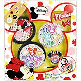 Игровой набор детской декоративной косметики с футляром, Минни Маус