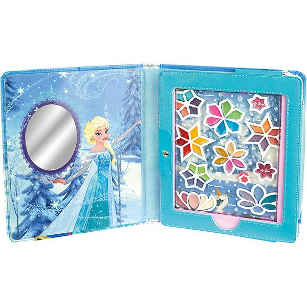 Игровой набор детской декоративной косметики в чехле для планшета, Холодное сердце