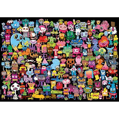 Puzzle 2000 Teile - Burgerman, Hi There!