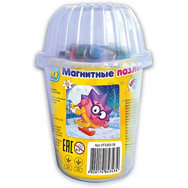 """Мягкие магнитные пазлы в стакане """"Ежик"""", Смешарики, Vladi Toys"""
