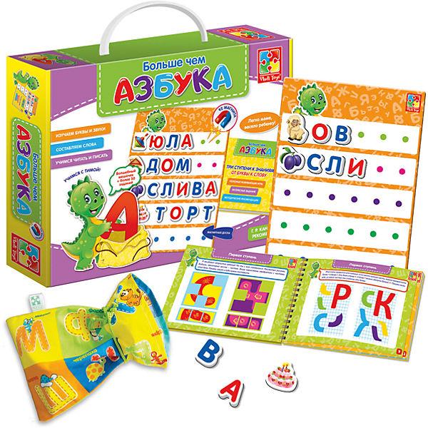 """Настольная игра """"Больше чем Азбука"""", Vladi Toys"""