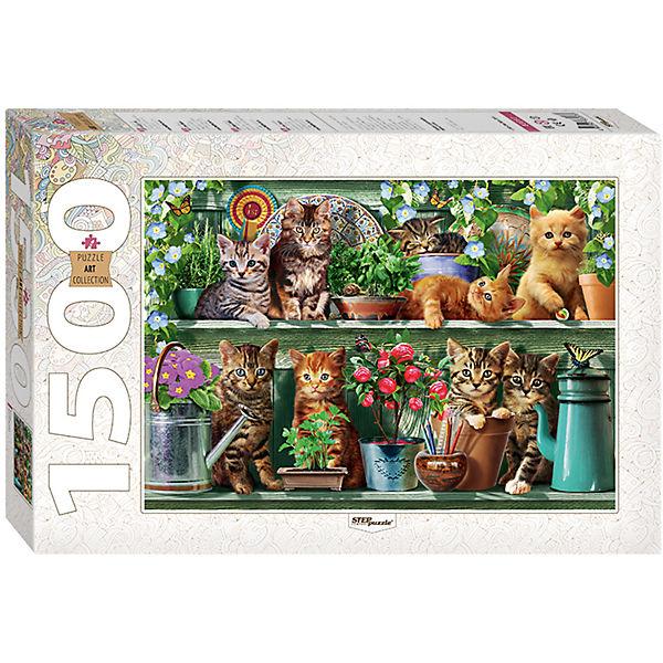 """Пазл """"Котята (new)"""", 1500 деталей, Step Puzzle"""
