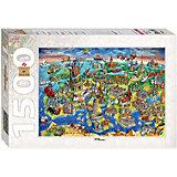 """Пазл """"Достопримечательности Европы"""", 1500 деталей, Step Puzzle"""