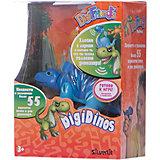 Динозавр Simon, синий с голубыми лапами, DigiBirds