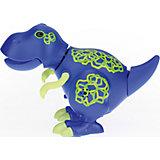 Динозавр Troy, синий с желтыми когтями, DigiBirds
