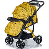 Прогулочная коляска FLORA, Babyhit, жёлтый/серый