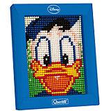 """Пиксельная мозаика """"Дональд"""", 1200 деталей, Quercetti"""