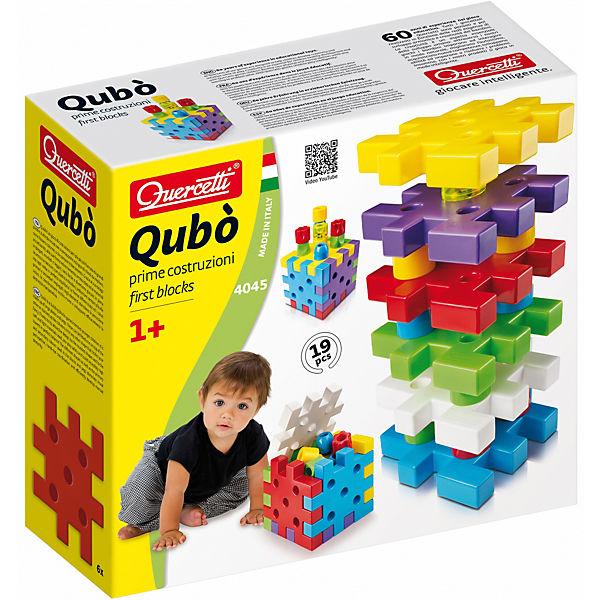 Конструктор Кубо, 19 деталей, Quercetti