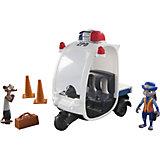 """Игровой набор """"Полицейский мотороллер"""", Зверополис"""