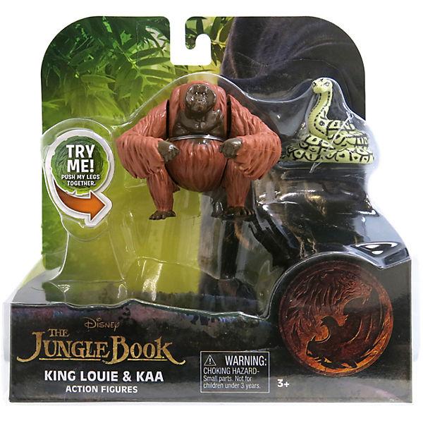 "Фигурки ""Книга Джунглей"" - Обезьяна Король Луи и питон Каа."