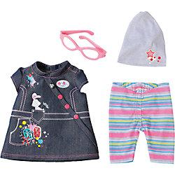 Одежда Джинсовая, BABY born, разноцветная