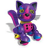 Интерактивный Котёнок, фиолетовый, Zoomer