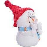 """Фигурка """"Снеговик с бокалами"""" 8 см, керамика"""