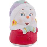 """Новогодняя фигурка снеговика """"Снеговик-девушка"""""""