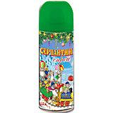 Серпантин синтетический зеленый в спрее, 250мл