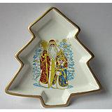 Декоративная тарелка 17х17х2,5см (керамика)
