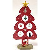 """Новогодняя ель """"Ёлочка красная"""", высота 23 см"""
