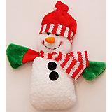 """Украшение новогоднее подвесное """"Снеговик с шарфом"""""""