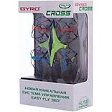 6-осевой Gyro-Cross квадрокоптер 2,4GHz, 4 канала, 1toy