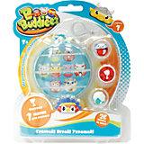"""Набор Bbuddieez: шарик-шкатулка с подвеской и 3 шарма-персонажа"""", 1toy"""