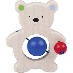 Игрушка Медвежонок с бусинками, HEIMESS