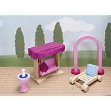 Мебель кукольная садовая (дворец), goki
