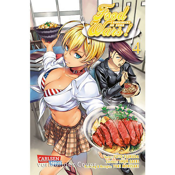 Food Wars, Band 4