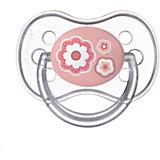 Пустышка симметричная силиконовая, 0-6 Newborn baby, Canpol Babies, розовый