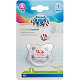 Пустышка симметричная силиконовая, 0-6 Summertime, Canpol Babies, бабочка