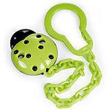Клипса-держатель для пустышек, 0+, Canpol Babies, зеленый
