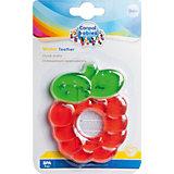 Прорезыватель водный охлаждающий Ягодка 0+ Fruits, Canpol Babies, красный