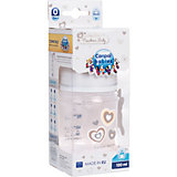 Бутылочка PP EasyStart с широким горлышком антиколиковая, 120 мл, 0+ Newborn baby, Canpol Babies, белый