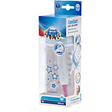 Бутылочка PP EasyStart с широким горлышком антиколиковая, 240 мл, 3+ Newborn baby, Canpol Babies, голубой