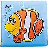 Книжка с пищалкой Рыбка 6+, Canpol Babies