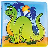 Книжка с пищалкой Динозаврик 6+, Canpol Babies