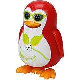 Поющий пингвин с кольцом, красный, DigiBirds