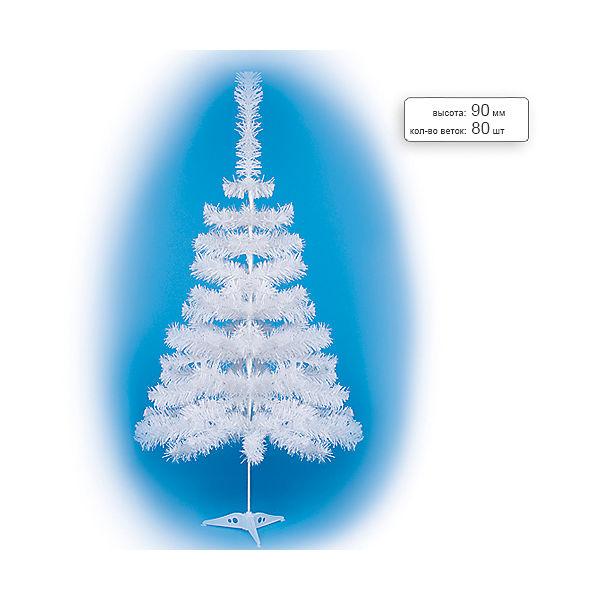 Елка искусственная белая, 90 см