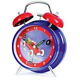"""Часы-будильник """"Гоночные машинки"""", Egmont Toys"""