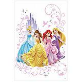 Наклейки для декора Дисней: Принцессы, RoomMates