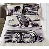 """Постельное белье """"Pet"""", 2-спальный, 70*70 50х70 SL сатин панно, Mona Liza"""