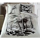 """Постельное белье """"Nature"""", 2-спальный, 70*70 50х70 SL сатин панно, Mona Liza"""