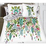 """Постельное белье """"Jade"""", 2-спальный, 70*70 50х70 SL сатин панно, Mona Liza"""