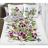 """Постельное белье """"Iris"""", 2-спальный, 70*70 50х70 SL сатин панно, Mona Liza"""
