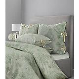 """Постельное белье """"SL Chalet"""", 2-спальный, 70*70 50х70 сатин, Mona Liza, зеленая олива"""