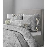 """Постельное белье """"SL Chalet"""", 2-спальный, 70*70 50х70 сатин, Mona Liza, бархатный серый"""